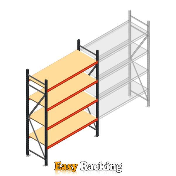 Beginsectie AR grootvakstelling 2000x1500x600 - 4 niveaus