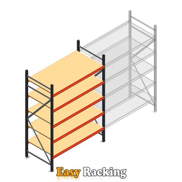 Beginsectie AR grootvakstelling 2000x1610x800 - 5 niveaus