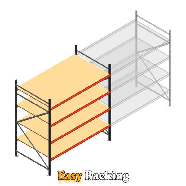 Beginsectie AR grootvakstelling 2000x1850x1200 - 4 niveaus