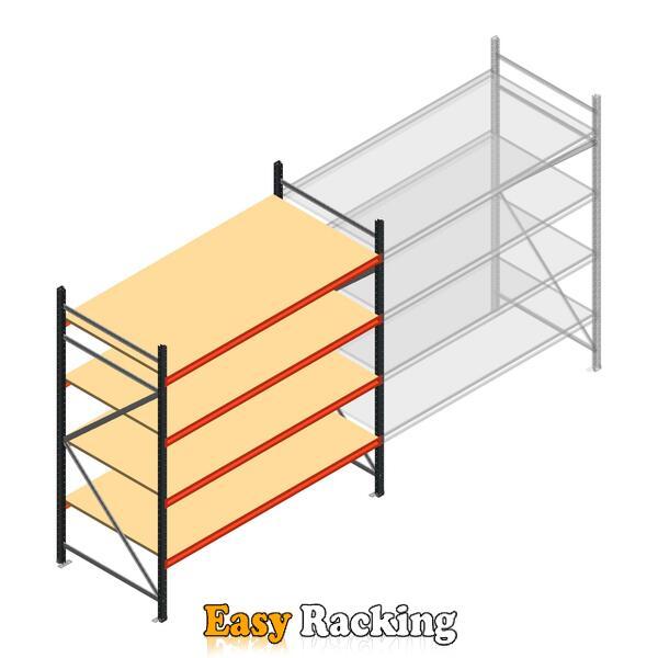 Beginsectie AR grootvakstelling 2000x1850x900 - 4 niveaus