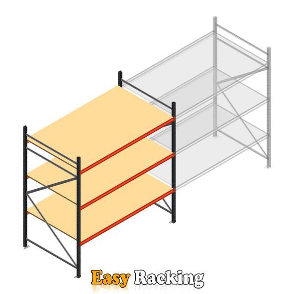 Beginsectie AR grootvakstelling 2000x2250x1200 - 3 niveaus