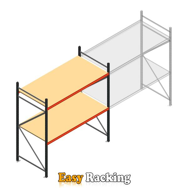 Beginsectie AR grootvakstelling 2000x2250x900 - 2 niveaus
