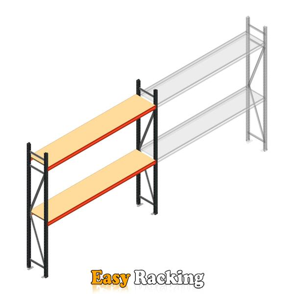 Beginsectie AR grootvakstelling 2000x2700x500 - 2 niveaus