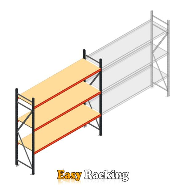Beginsectie AR grootvakstelling 2000x2700x600 - 3 niveaus
