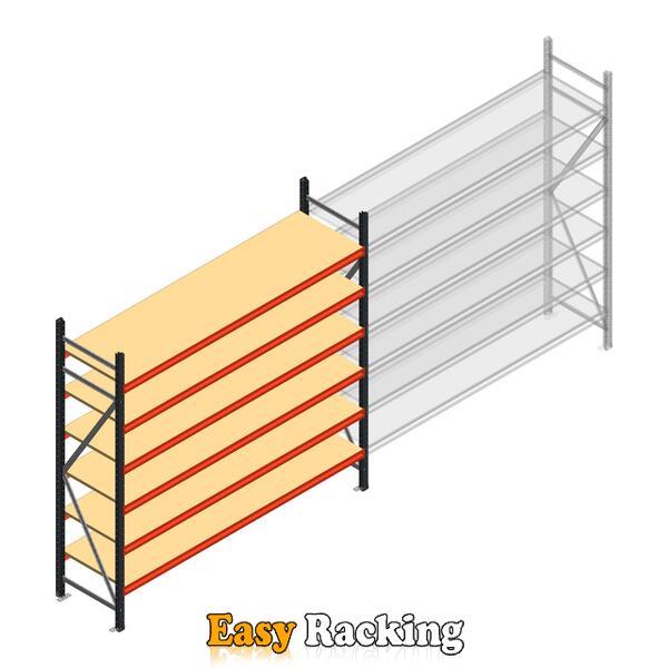 Beginsectie AR grootvakstelling 2000x2700x600 - 6 niveaus