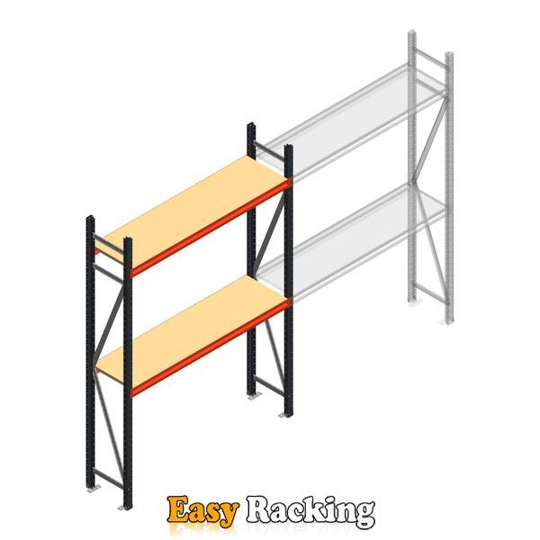 Beginsectie AR grootvakstelling 2250x1500x400 - 2 niveaus