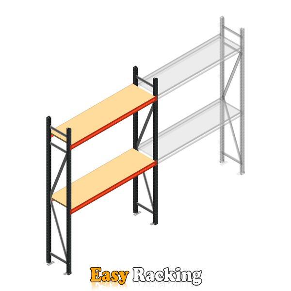 Beginsectie AR grootvakstelling 2250x1500x500 - 2 niveaus