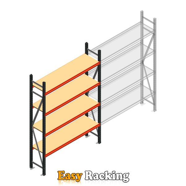 Beginsectie AR grootvakstelling 2250x1500x500 - 4 niveaus