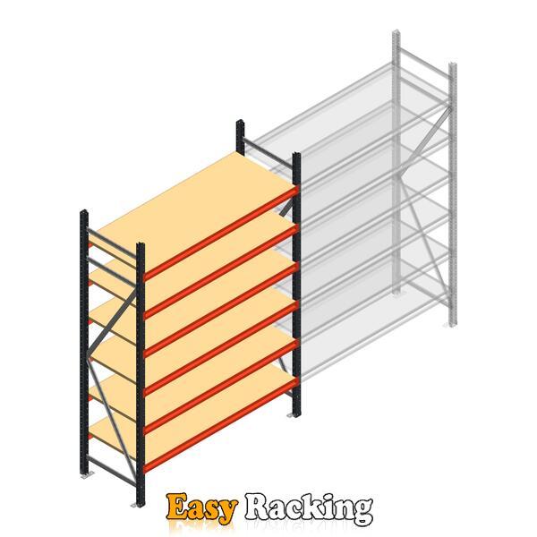 Beginsectie AR grootvakstelling 2250x1500x600 - 6 niveaus