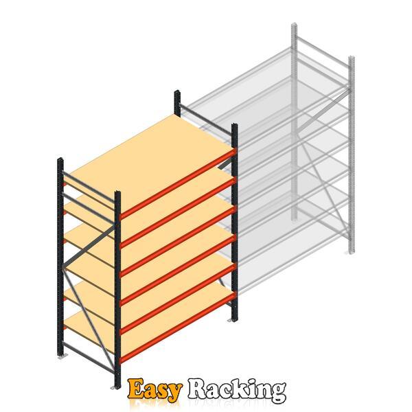Beginsectie AR grootvakstelling 2250x1500x800 - 6 niveaus