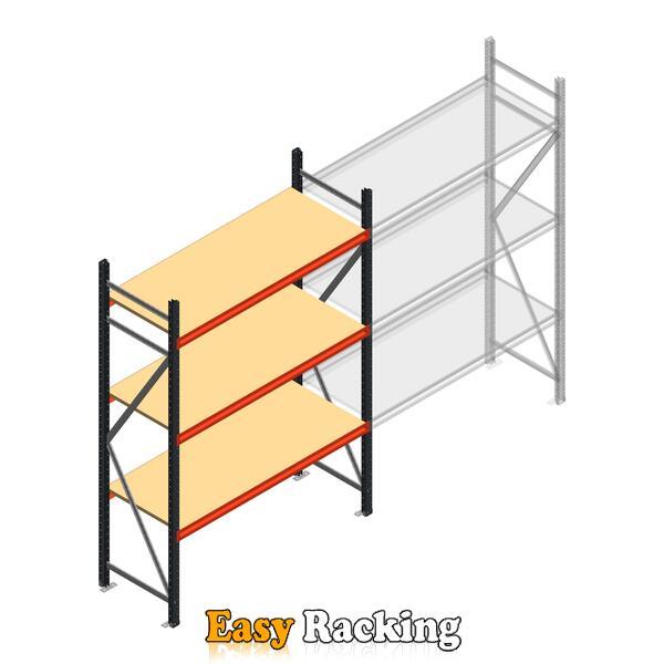 Beginsectie AR grootvakstelling 2250x1610x600 - 3 niveaus