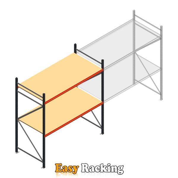 Beginsectie AR grootvakstelling 2250x1850x1000 - 2 niveaus
