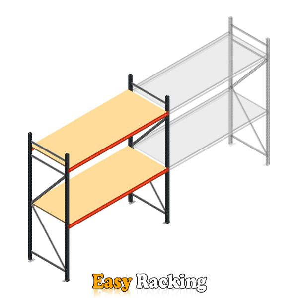 Beginsectie AR grootvakstelling 2250x2250x800 - 2 niveaus