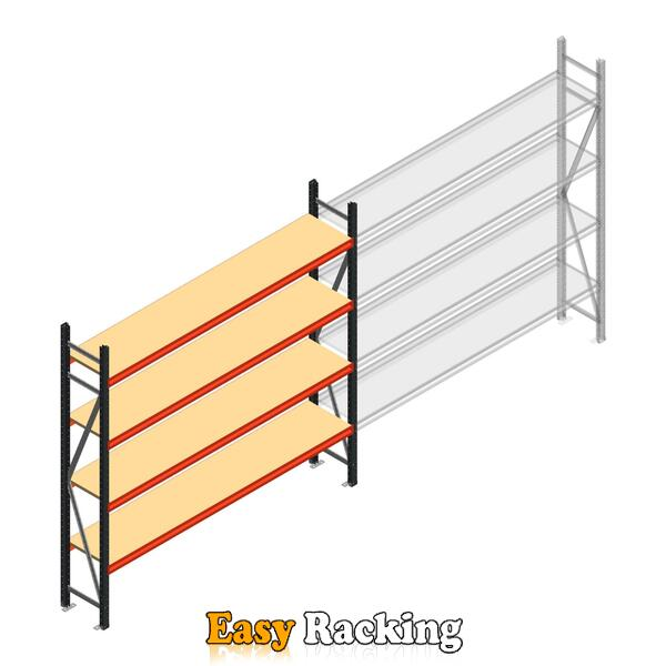 Beginsectie AR grootvakstelling 2250x2700x500 - 4 niveaus