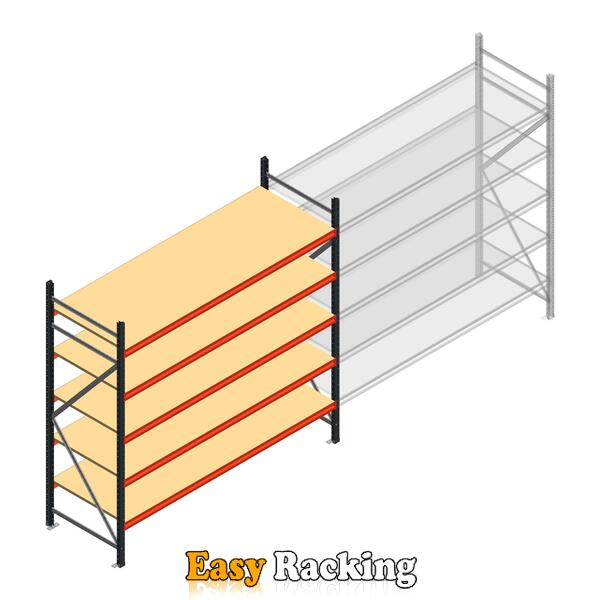 Beginsectie AR grootvakstelling 2250x2700x800 - 5 niveaus