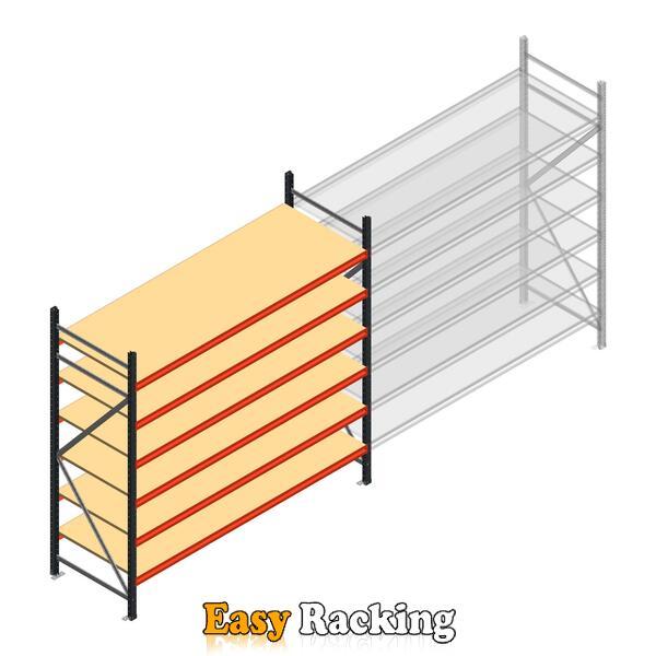 Beginsectie AR grootvakstelling 2250x2700x800 - 6 niveaus