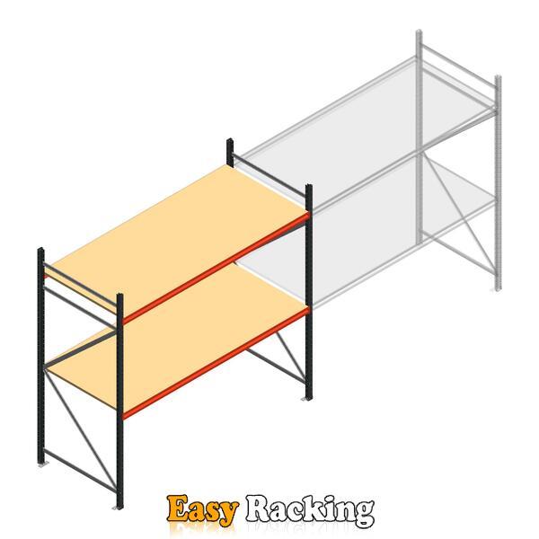 Beginsectie AR grootvakstelling 2250x2700x900 - 2 niveaus