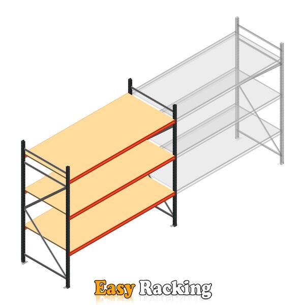 Beginsectie AR grootvakstelling 2250x2700x900 - 3 niveaus