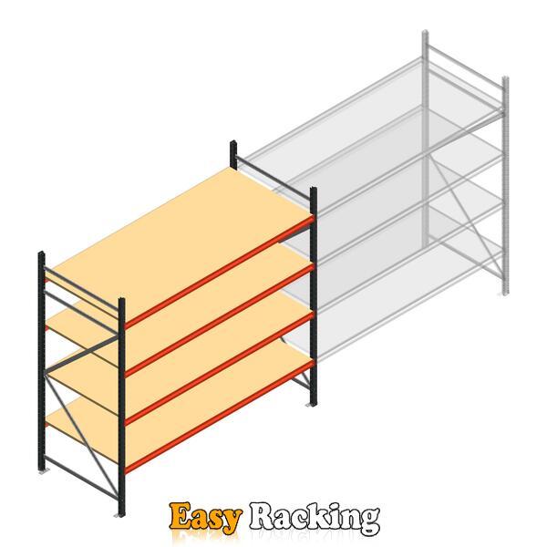 Beginsectie AR grootvakstelling 2250x2700x900 - 4 niveaus