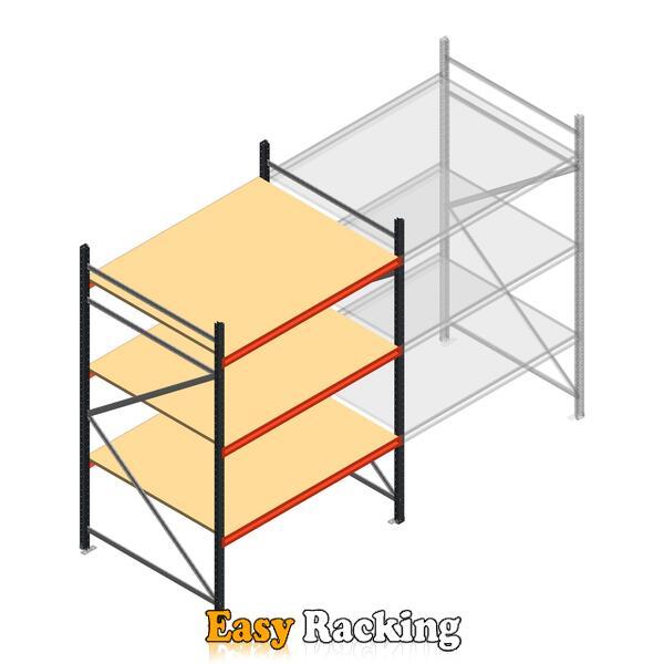 Beginsectie AR grootvakstelling 2500x1500x1200 - 3 niveaus