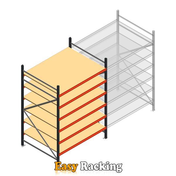 Beginsectie AR grootvakstelling 2500x1500x1200 - 6 niveaus