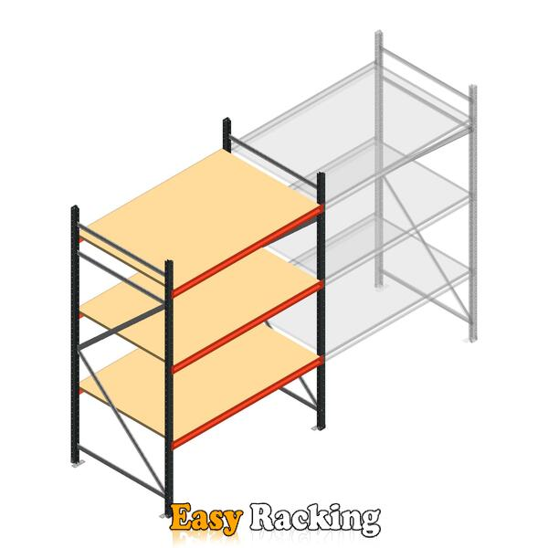 Beginsectie AR grootvakstelling 2500x1500x900 - 3 niveaus