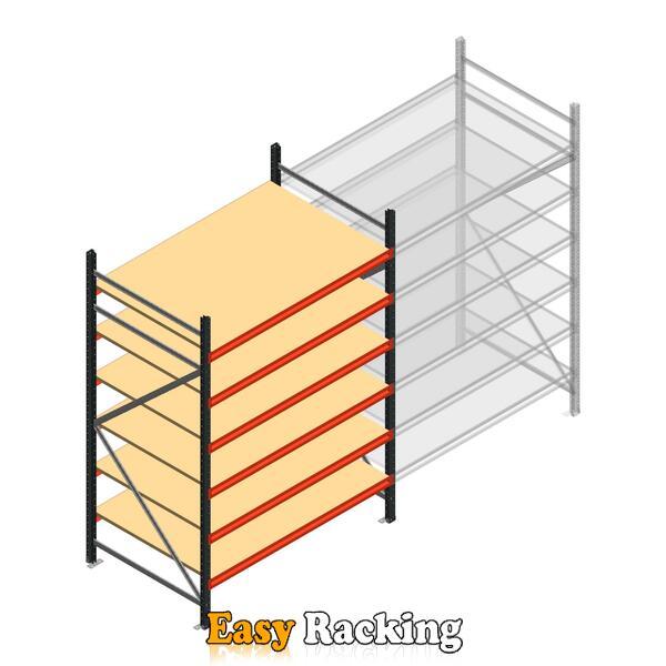 Beginsectie AR grootvakstelling 2500x1500x900 - 6 niveaus
