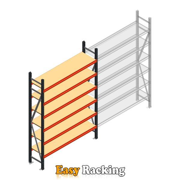 Beginsectie AR grootvakstelling 2500x1610x400 - 6 niveaus