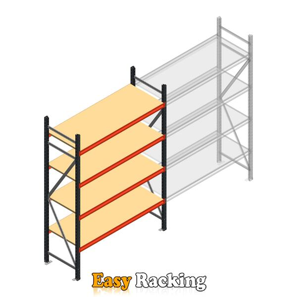 Beginsectie AR grootvakstelling 2500x1610x600 - 4 niveaus