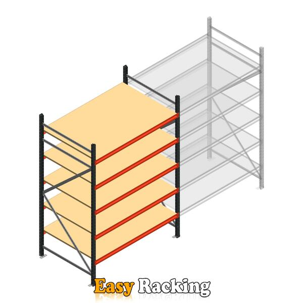 Beginsectie AR grootvakstelling 2500x1610x900 - 5 niveaus