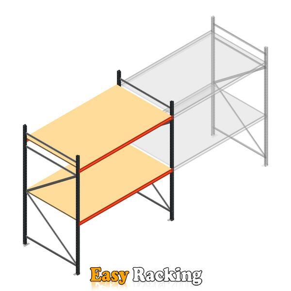 Beginsectie AR grootvakstelling 2500x1850x1200 - 2 niveaus