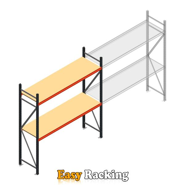 Beginsectie AR grootvakstelling 2500x2010x600 - 2 niveaus