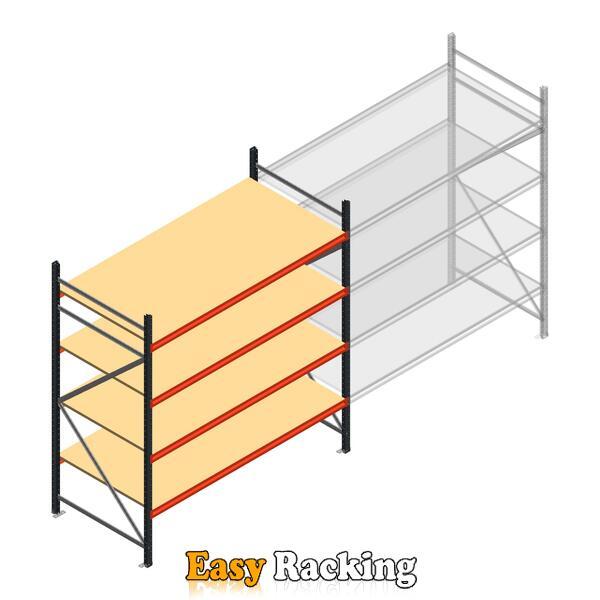Beginsectie AR grootvakstelling 2500x2250x1000 - 4 niveaus