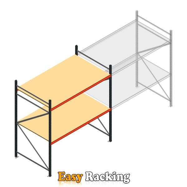 Beginsectie AR grootvakstelling 2500x2250x1200 - 2 niveaus