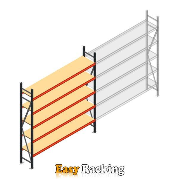 Beginsectie AR grootvakstelling 2500x2250x400 - 5 niveaus