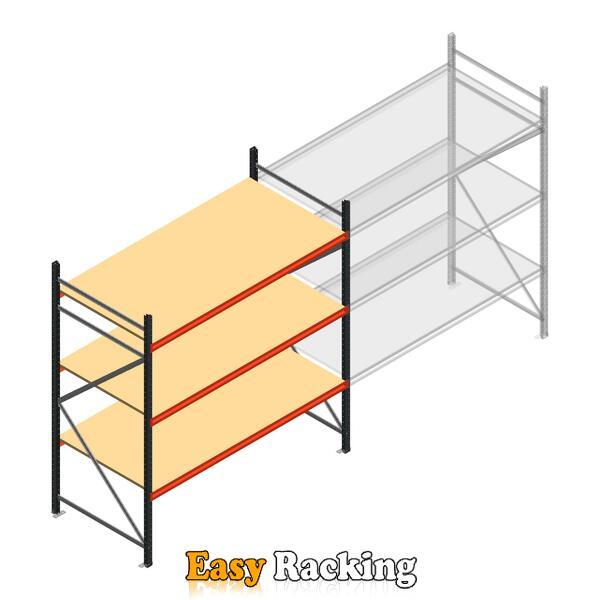 Beginsectie AR grootvakstelling 2500x2250x900 - 3 niveaus