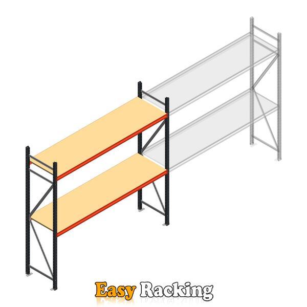 Beginsectie AR grootvakstelling 2500x2700x600 - 2 niveaus