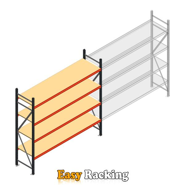 Beginsectie AR grootvakstelling 2500x2700x600 - 4 niveaus