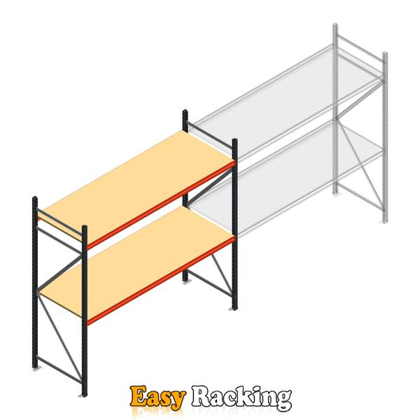 Beginsectie AR grootvakstelling 2500x2700x800 - 2 niveaus