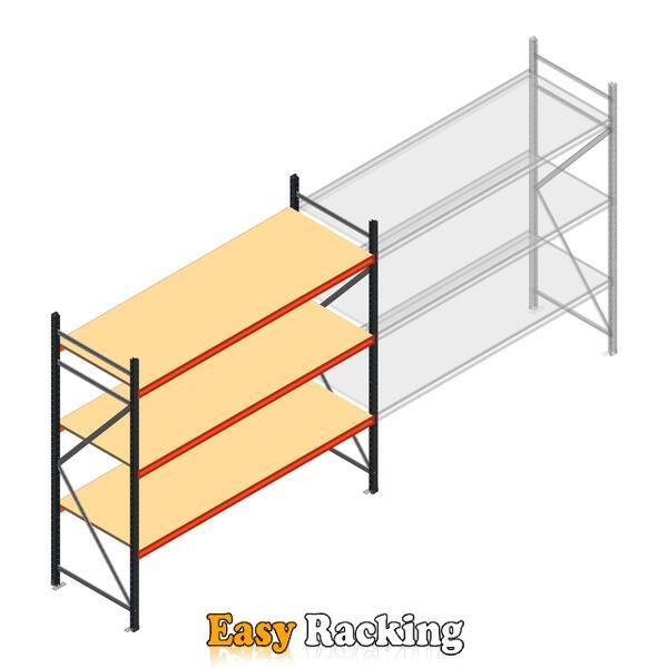 Beginsectie AR grootvakstelling 2500x2700x800 - 3 niveaus