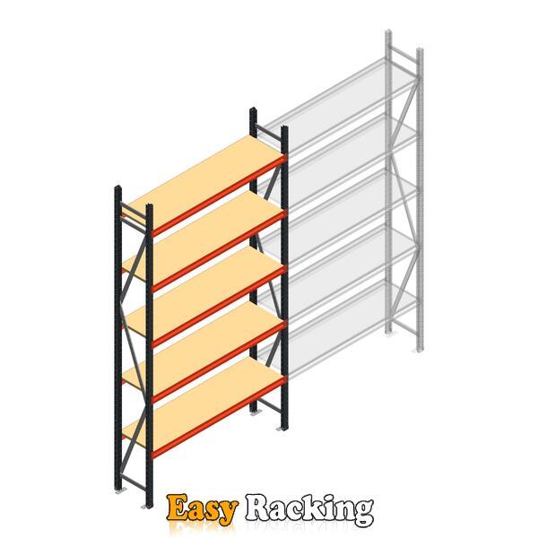 Beginsectie AR grootvakstelling 3000x1500x400 - 5 niveaus