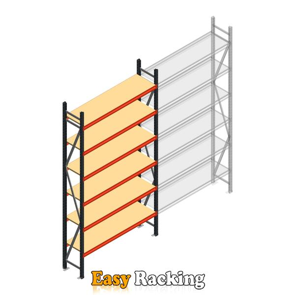 Beginsectie AR grootvakstelling 3000x1500x400 - 6 niveaus