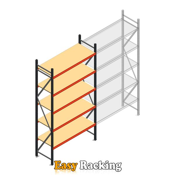 Beginsectie AR grootvakstelling 3000x1500x600 - 5 niveaus