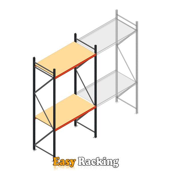 Beginsectie AR grootvakstelling 3000x1500x800 - 2 niveaus