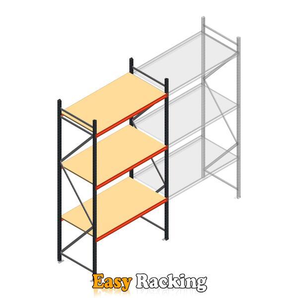 Beginsectie AR grootvakstelling 3000x1500x800 - 3 niveaus