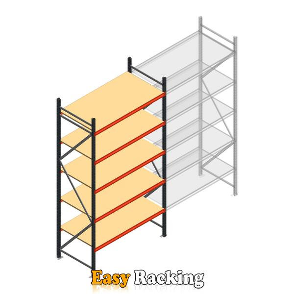 Beginsectie AR grootvakstelling 3000x1500x800 - 5 niveaus
