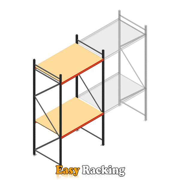 Beginsectie AR grootvakstelling 3000x1500x900 - 2 niveaus