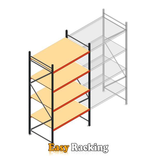 Beginsectie AR grootvakstelling 3000x1500x900 - 4 niveaus