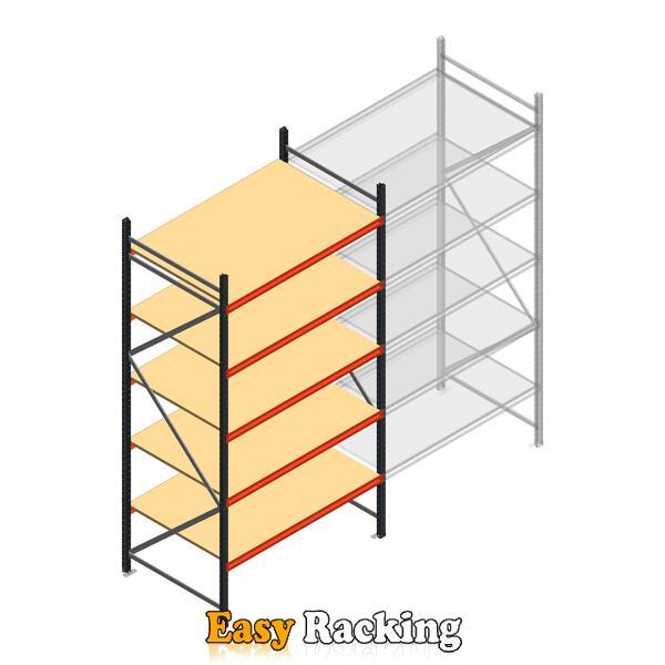 Beginsectie AR grootvakstelling 3000x1500x900 - 5 niveaus