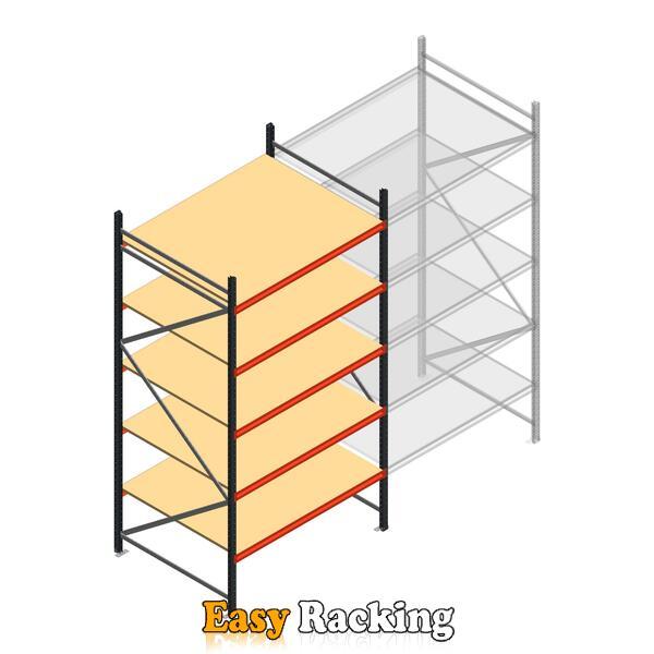 Beginsectie AR grootvakstelling 3000x1610x1200 - 5 niveaus